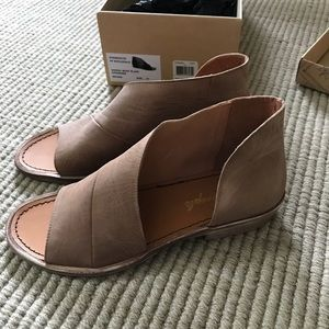 Free People Mont Blanc Leather Sandals